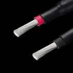 The LessLoss Anchorwave loudspeaker cables can be ordered with endings prepared for direct terminal connection, if no connectors are used.