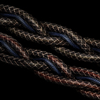 The DFPC Reference features a double Live connection for extra dynamic performance, as well as a fourth inter-woven grounding wire, seen here in blue.
