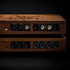 Echo's End Reference Supreme Edition with two Panzerholz enclosures and three C-MARC™ XLR DC umbilical cables of your chosen length.