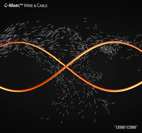 LessLoss C-MARC wire and cable